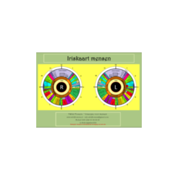Iriskaart voor mensen 1