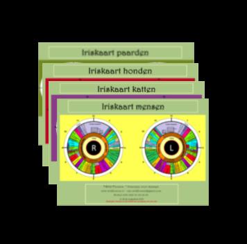 Iriskaarten complete set 1