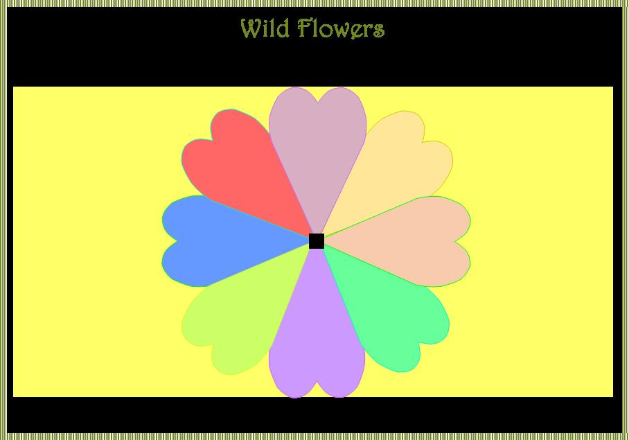 kaartwijzer leeg bloem 8 st 1e